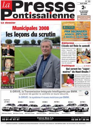 Couverture La presse pontissalienne n°102