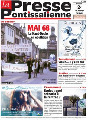 Couverture La presse pontissalienne n°103