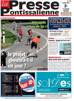 Couverture La presse pontissalienne n°105