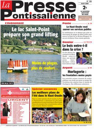 Couverture La presse pontissalienne n°106