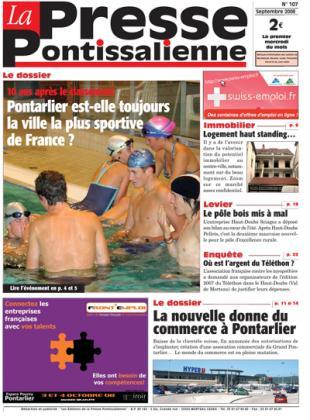 Couverture La presse pontissalienne n°107