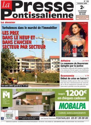 Couverture La presse pontissalienne n°108