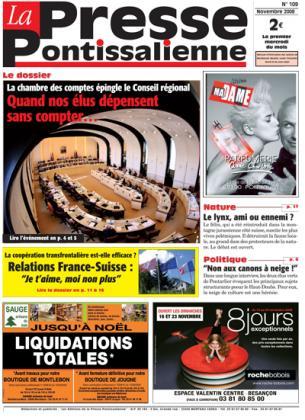 Couverture La presse pontissalienne n°109