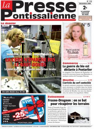 Couverture La presse pontissalienne n°110