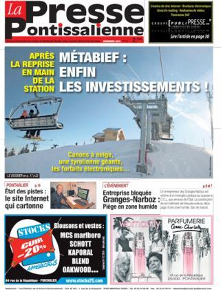 Couverture La presse pontissalienne n°134