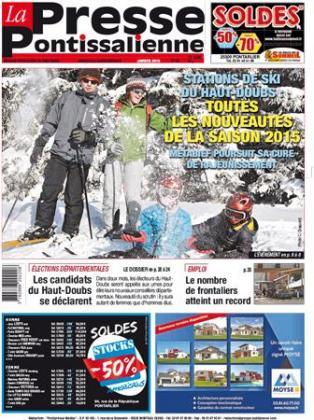 Couverture La presse pontissalienne n°183
