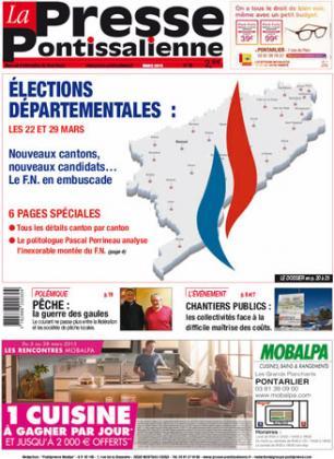 Couverture La presse pontissalienne n°185