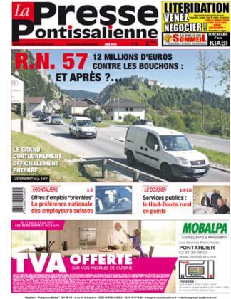 Couverture La presse pontissalienne n°188