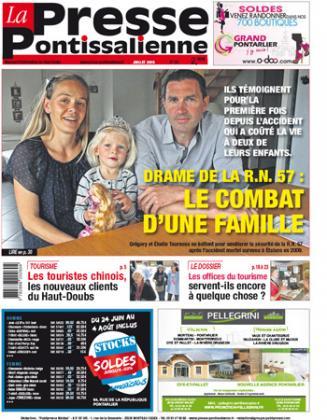 Couverture La presse pontissalienne n°189
