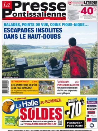 Couverture La presse pontissalienne n°190