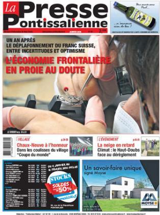 Couverture La presse pontissalienne n°195