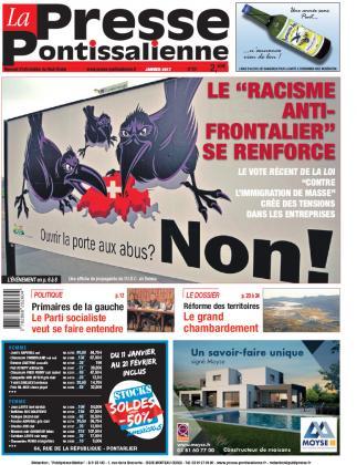 Couverture La Presse Pontissalienne n°207