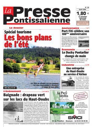 Couverture La presse pontissalienne n°58