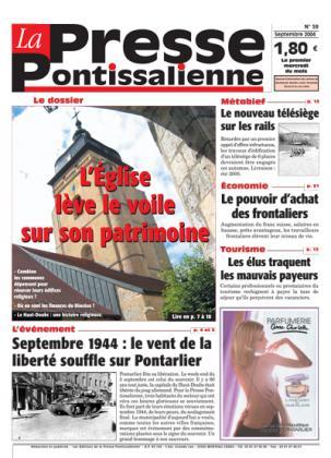 Couverture La presse pontissalienne n°59