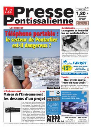 Couverture La presse pontissalienne n°65