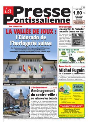 Couverture La presse pontissalienne n°68