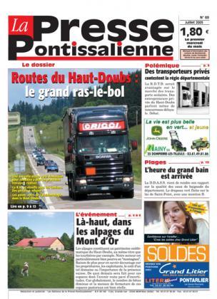 Couverture La presse pontissalienne n°69