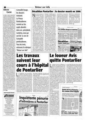 Couverture La presse pontissalienne n°71
