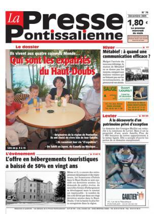 Couverture La presse pontissalienne n°74