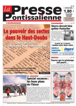 Couverture La presse pontissalienne n°76