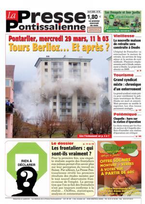 Couverture La presse pontissalienne n°78