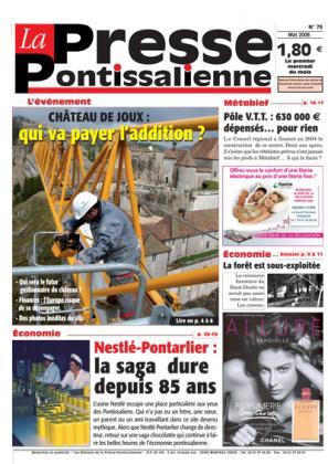 Couverture La presse pontissalienne n°79