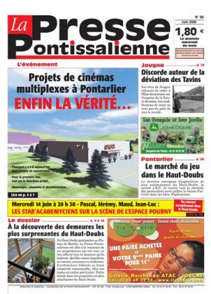 Couverture La presse pontissalienne n°80