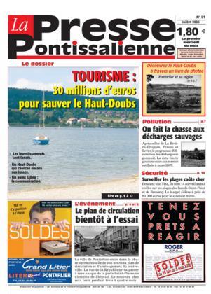 Couverture La presse pontissalienne n°81