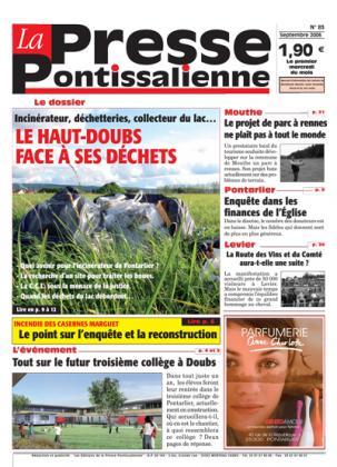 Couverture La presse pontissalienne n°83
