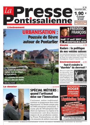 Couverture La presse pontissalienne n°85
