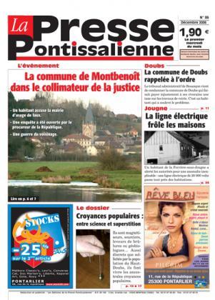 Couverture La presse pontissalienne n°86