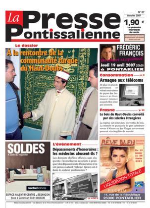 Couverture La presse pontissalienne n°87