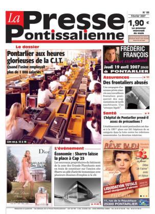 Couverture La presse pontissalienne n°88