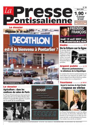 Couverture La presse pontissalienne n°89