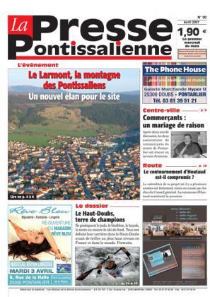 Couverture La presse pontissalienne n°90