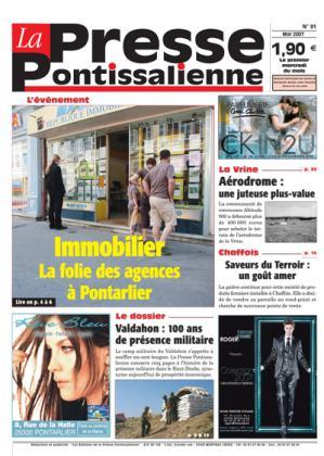 Couverture La presse pontissalienne n°91