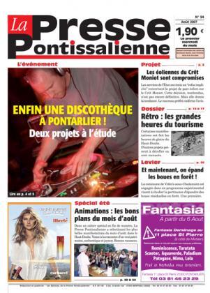 Couverture La presse pontissalienne n°94
