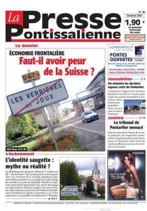Couverture La presse pontissalienne n°96