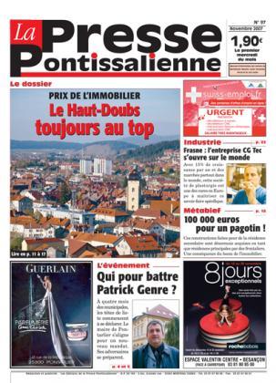 Couverture La presse pontissalienne n°97