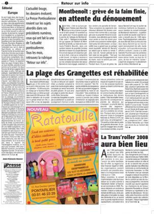 Couverture La presse pontissalienne n°98