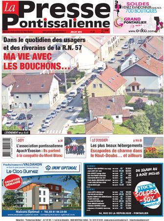 Couverture La Presse Pontissalienne n°201