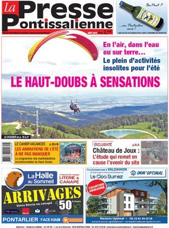 Couverture La Presse Pontissalienne n°202