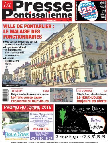 Couverture La Presse Pontissalienne n°203