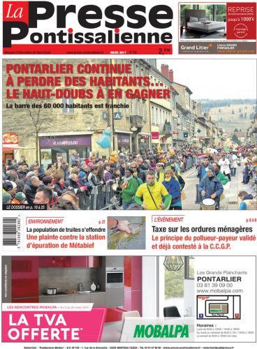 Couverture La Presse Pontissalienne n°209
