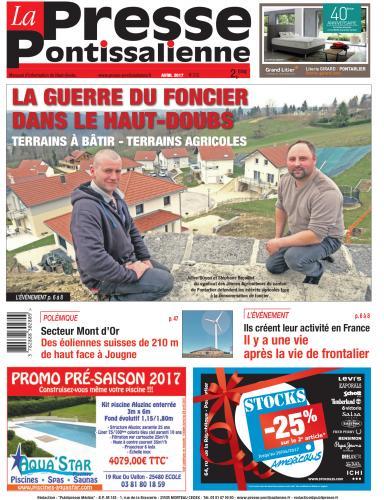Couverture La Presse Pontissalienne n°210