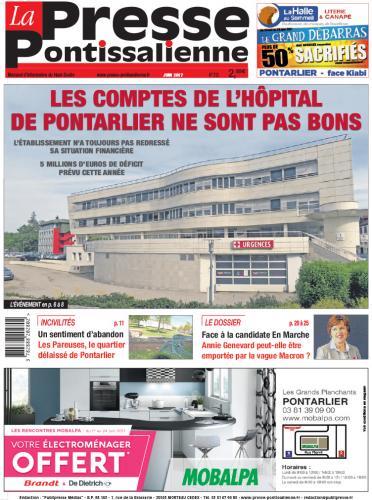 Couverture La Presse Pontissalienne n°212