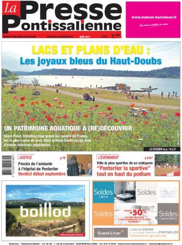 Couverture La Presse Pontissalienne n°214