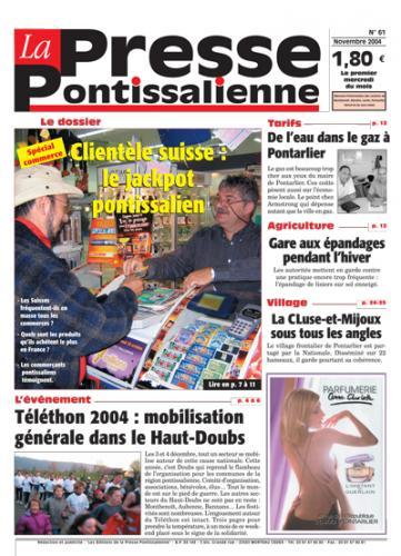 Couverture La presse pontissalienne n°61